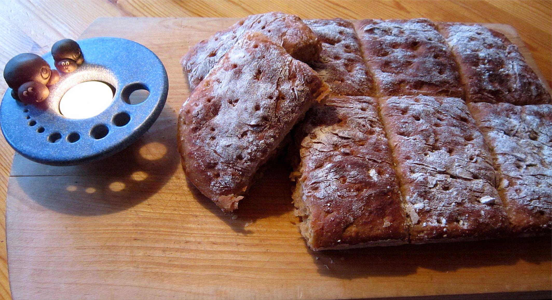 bröd med torrjäst rågsikt