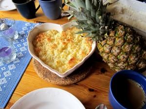 Ananas-kokospaj