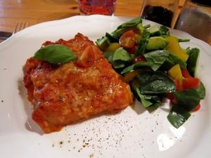Lasagne_chorizo