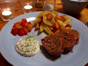 Köttfärsroullad